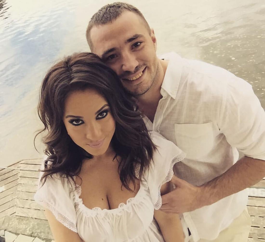 Наталка Карпа с мужем