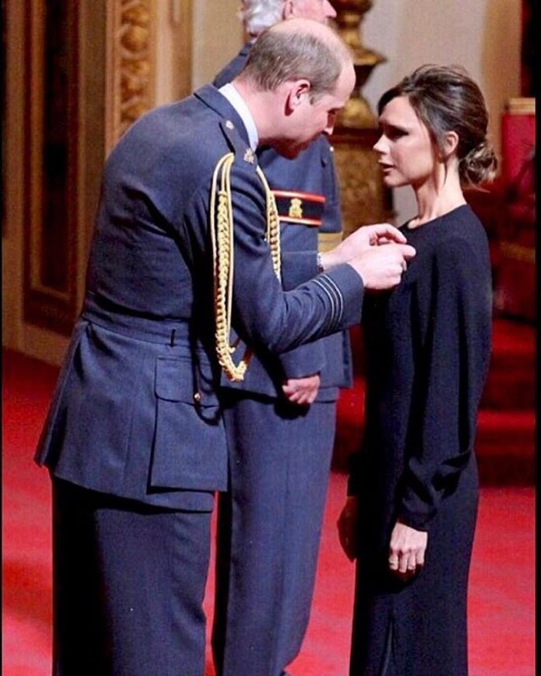 Виктория Бекхэм и принц Уильям