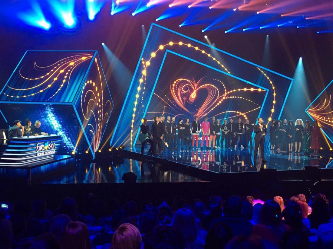 Отбор на Евровидение 2017 от Украины первый полуфинал: результаты голосования