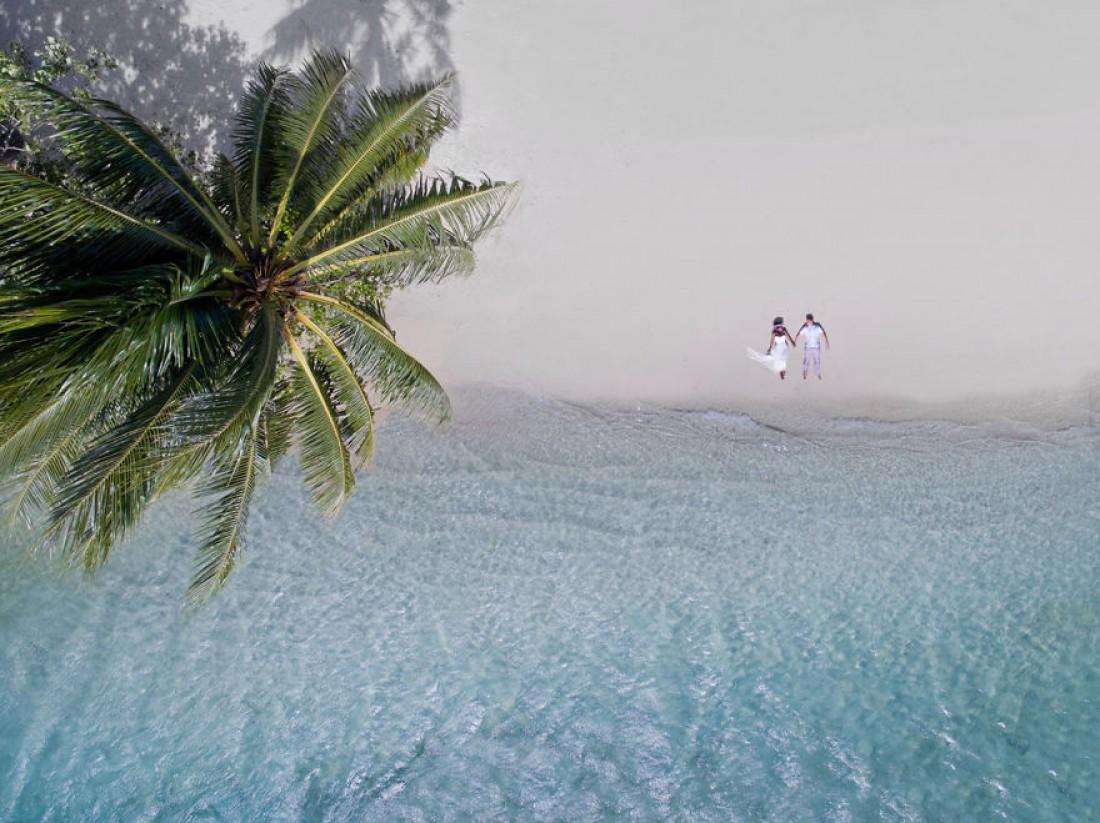 Свадьба с высоты птичьего полета