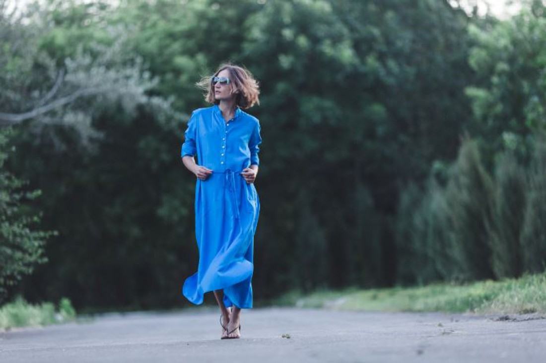 Прохладным летом платье-рубашка – то, что нужно!