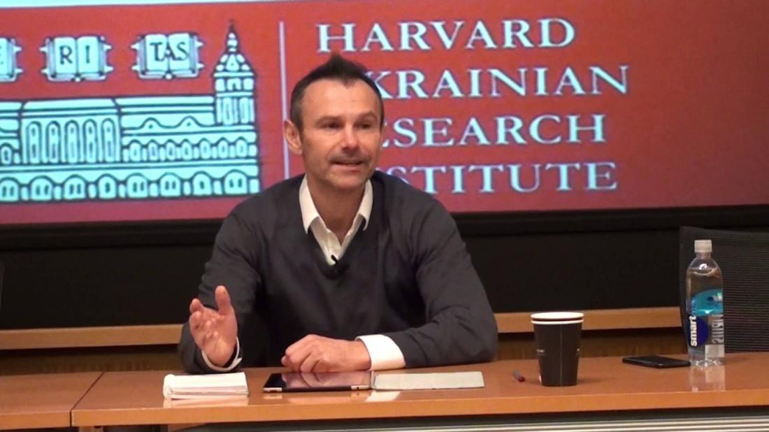 Святослав Вакарчук в Гарвардском университете