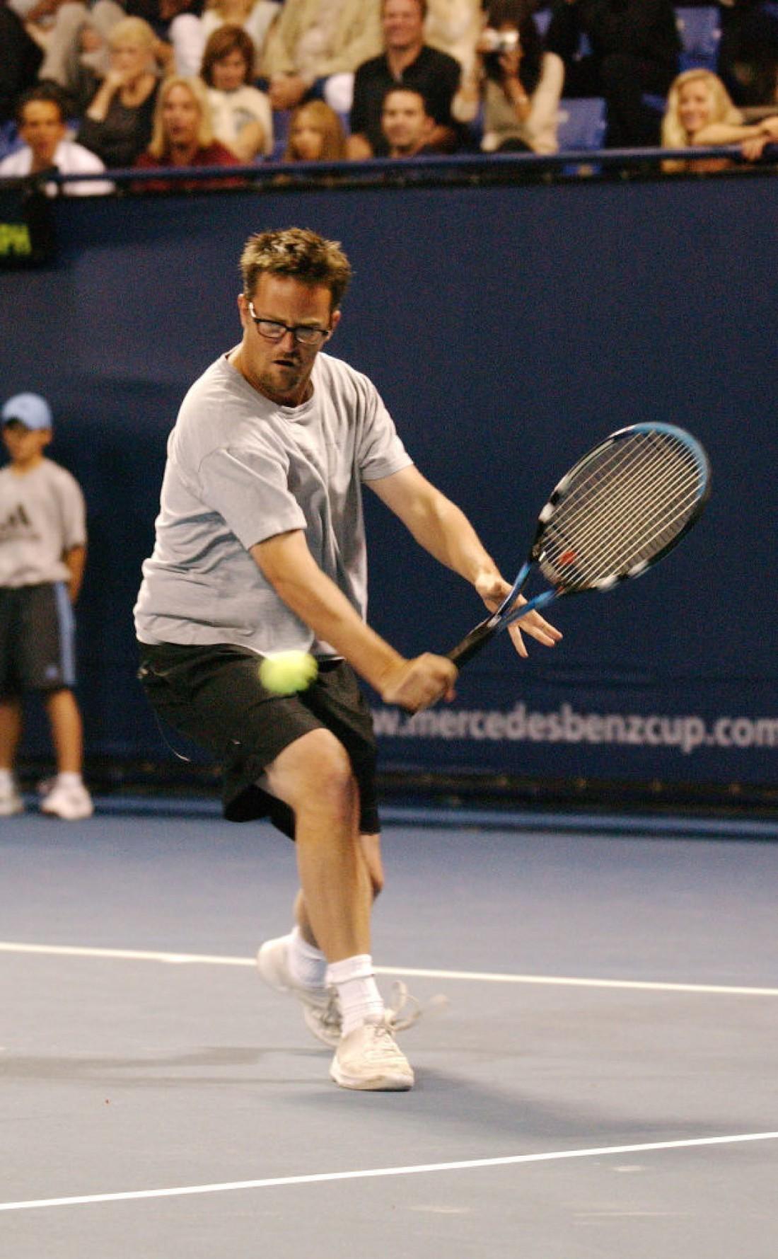 Мэттью Перри увлекался теннисом