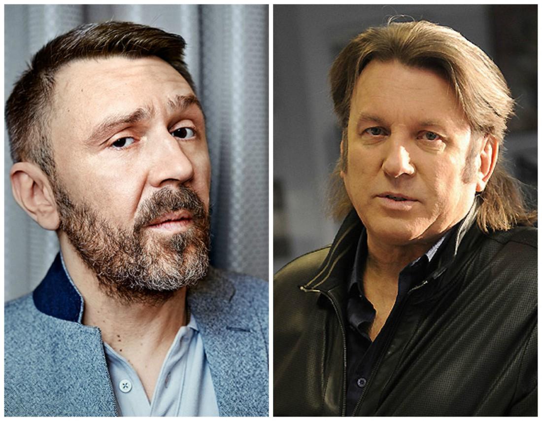 Сергей Шнуров и Юрий Лоза