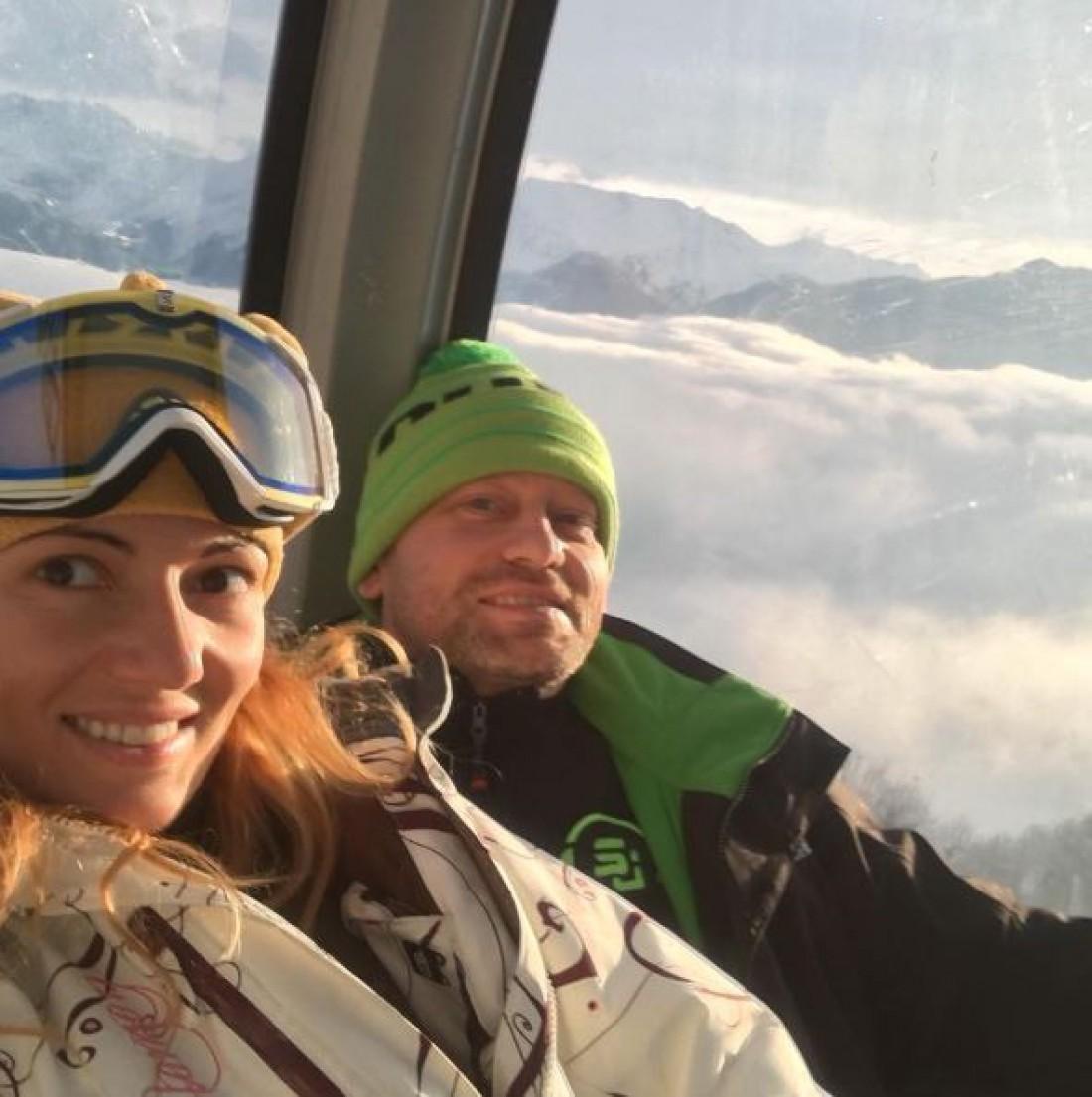 Сергей Ткаченко с девушкой
