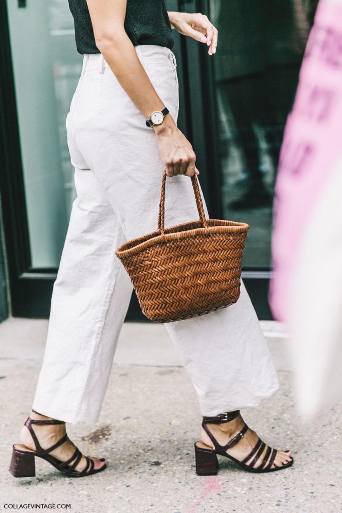 Плетенные сумки