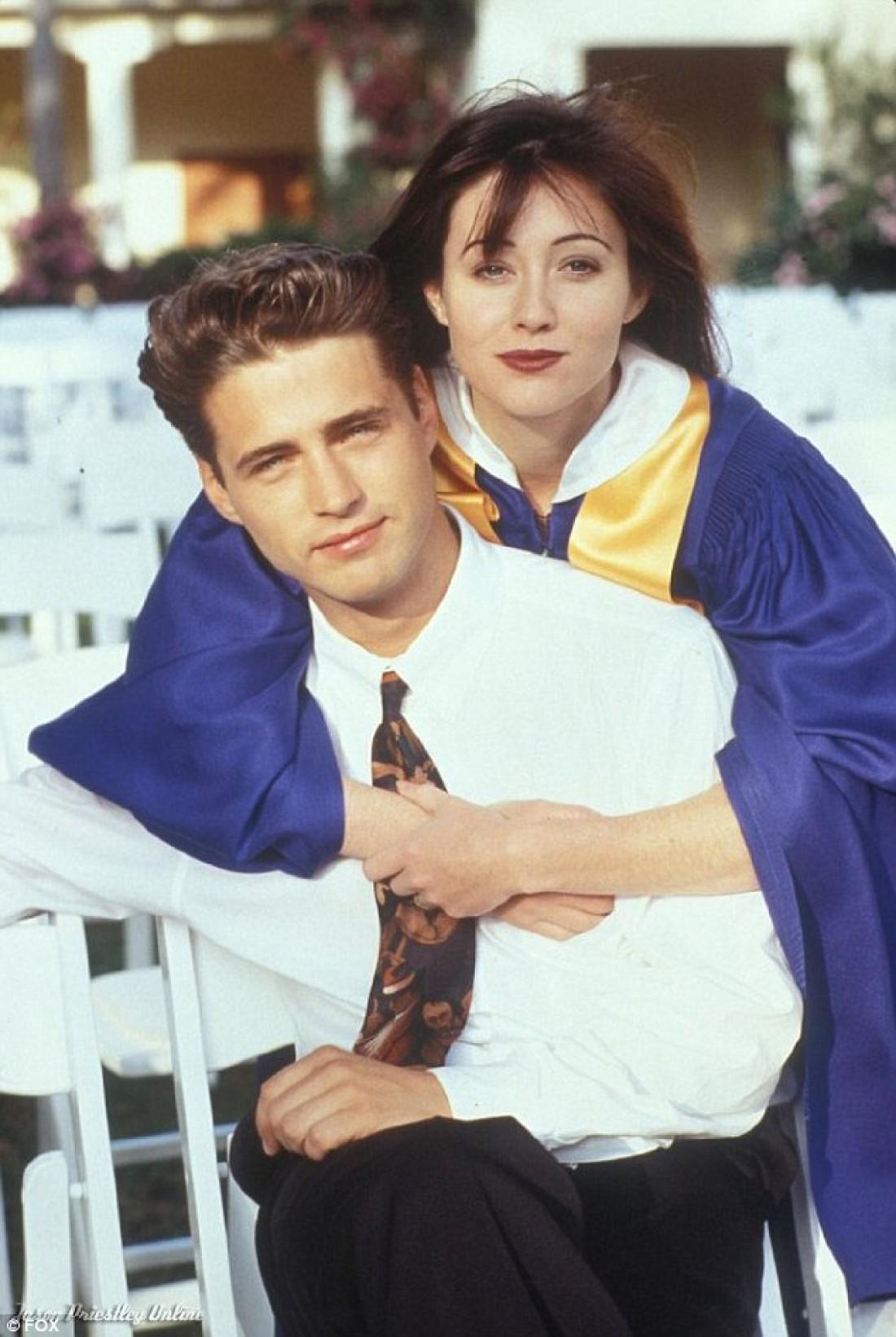 Брэнда и Брэндон в сериале Беверли-Хиллз 90210