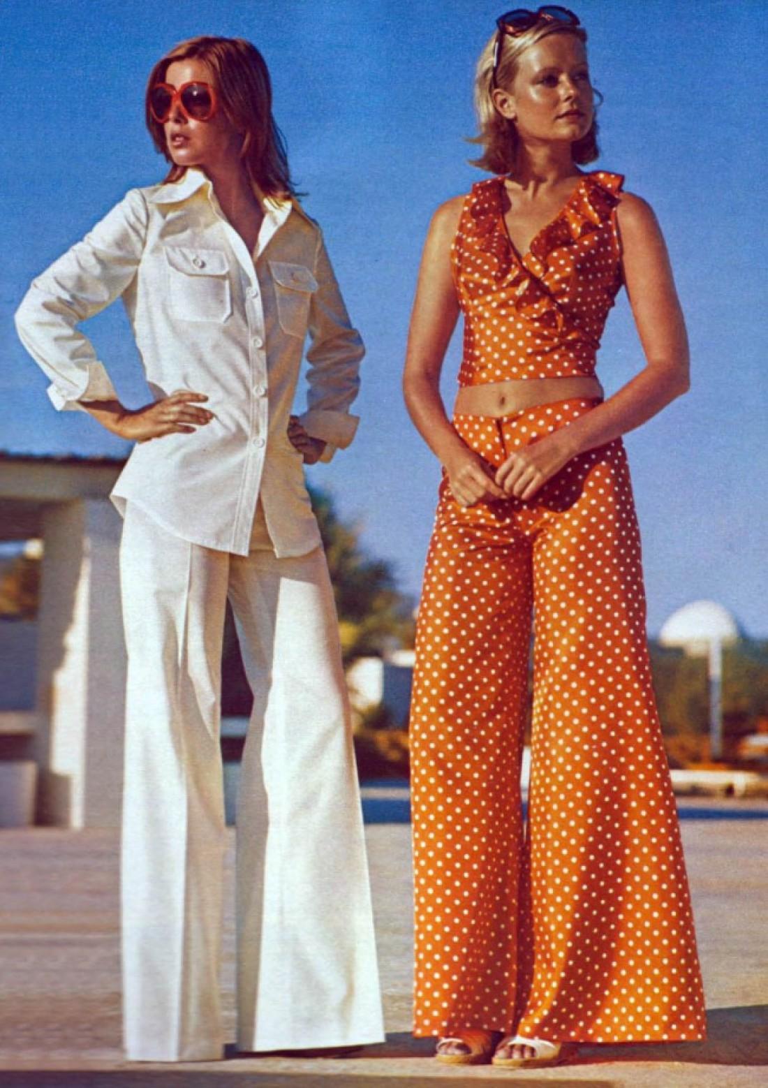 1970-е: кожа да кости