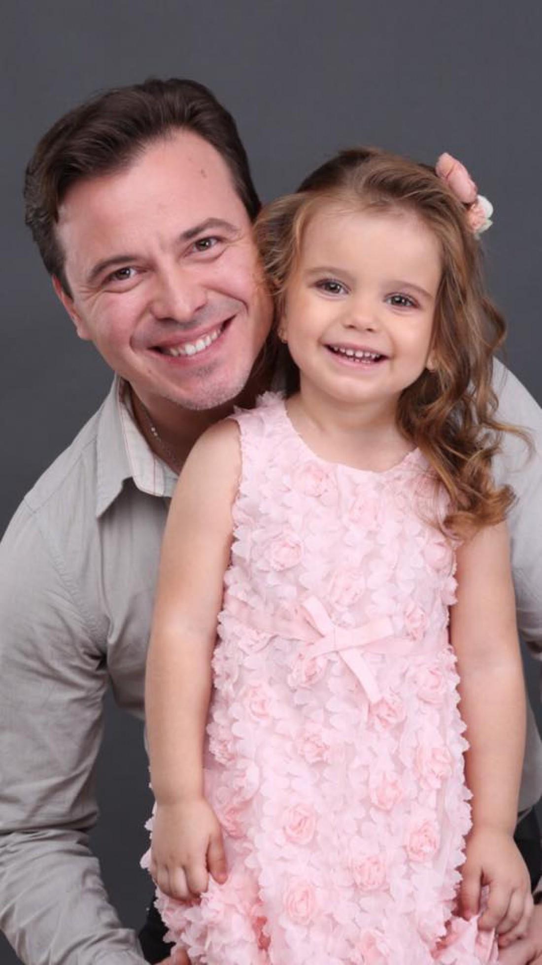 Андрей с дочкой