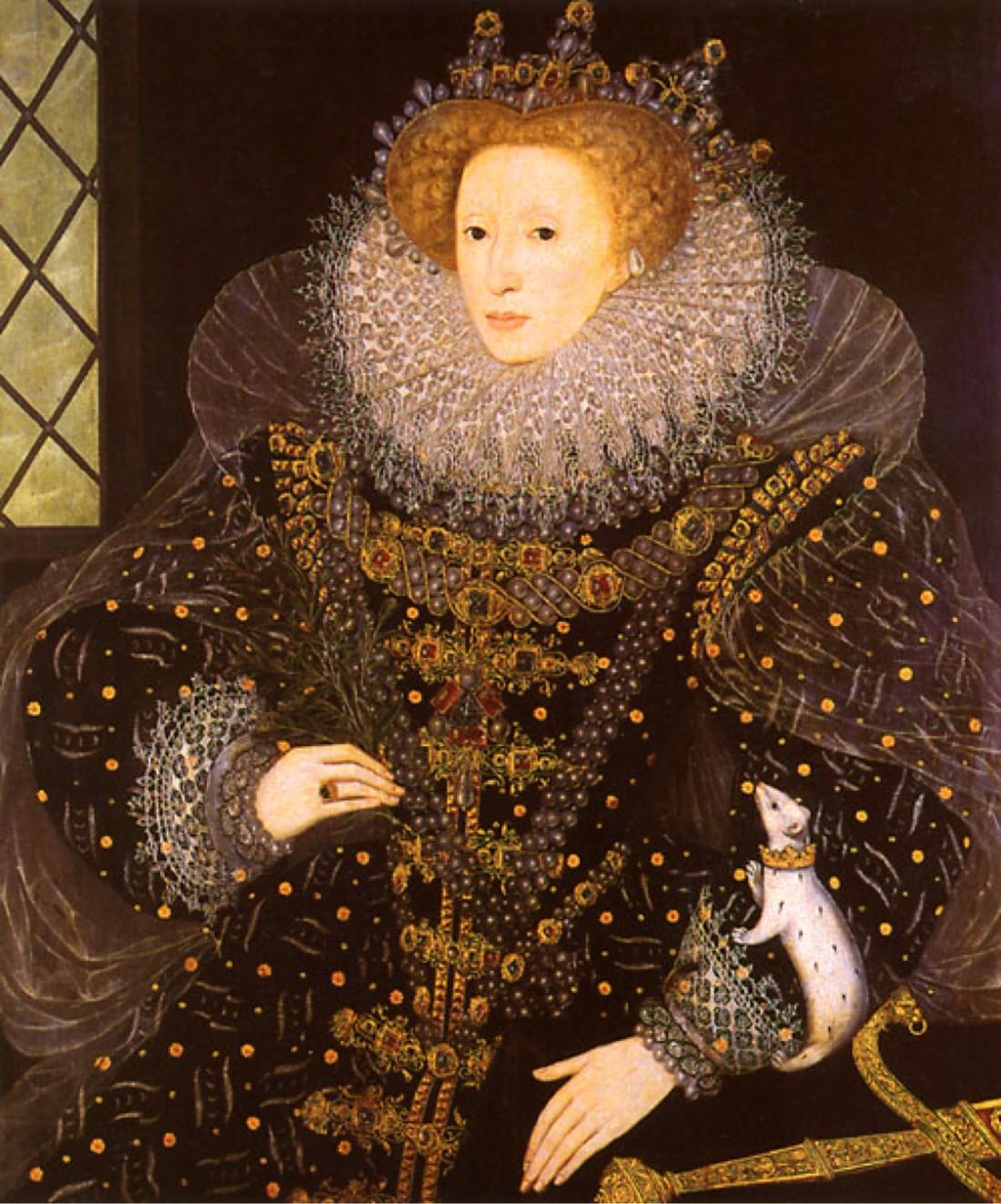 Елизавета I была одной из первых законодательниц моды