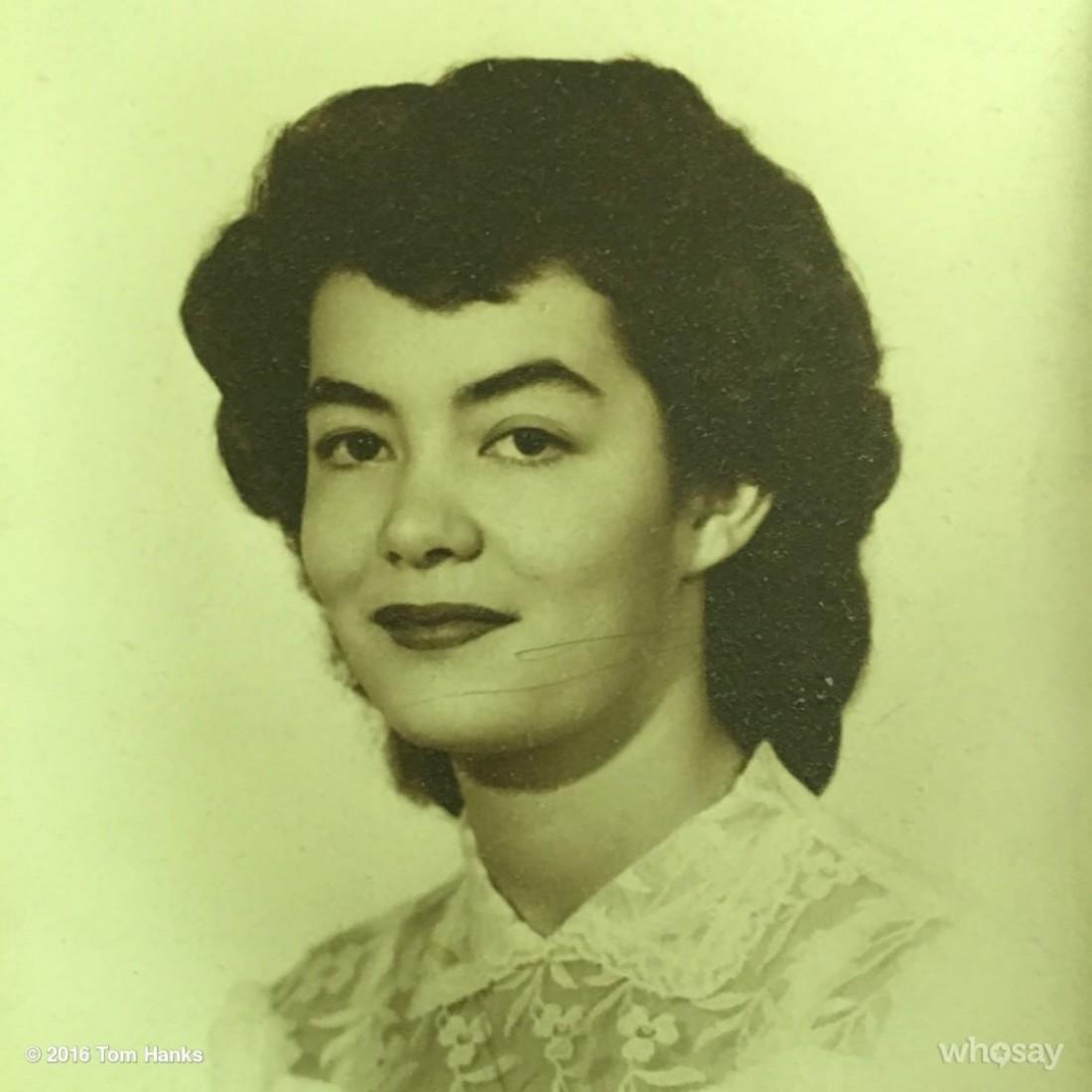 Мама Хэнкса – Джанет Мерилин Фрагер