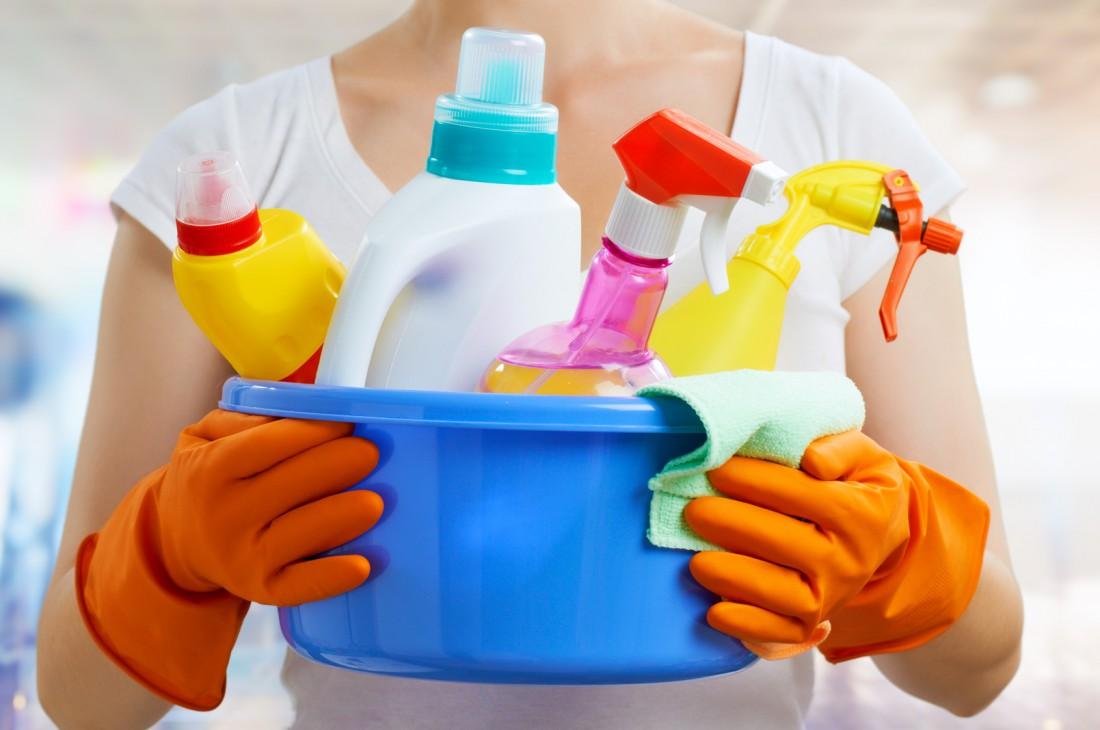 Защита рук от бытовой химии
