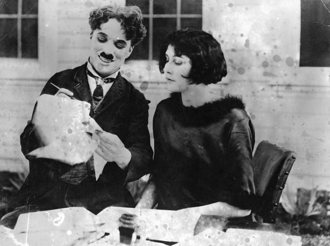 Лита Грей и Чарли Чаплин