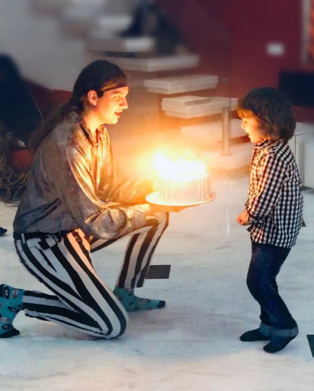 Ирина Билык показала семейные фото с празднования 5-летия младшего сына