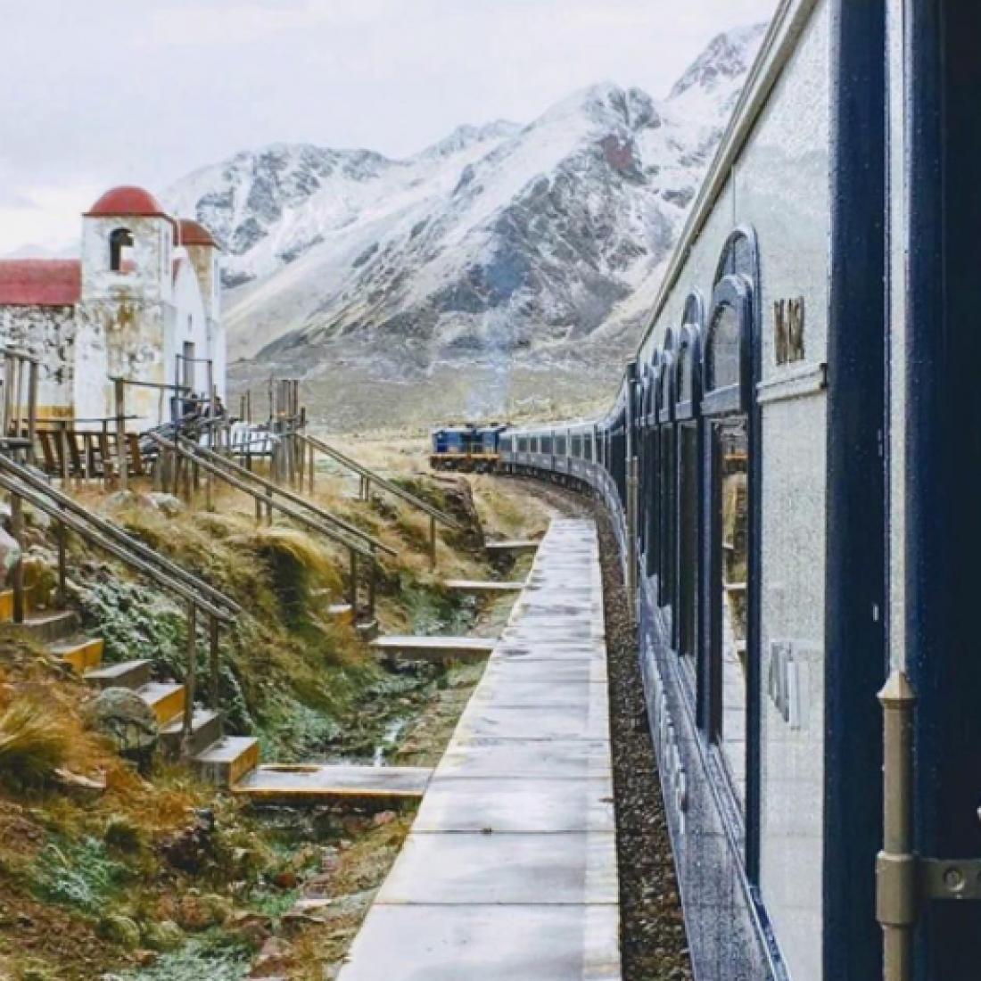 Поезд в Перу