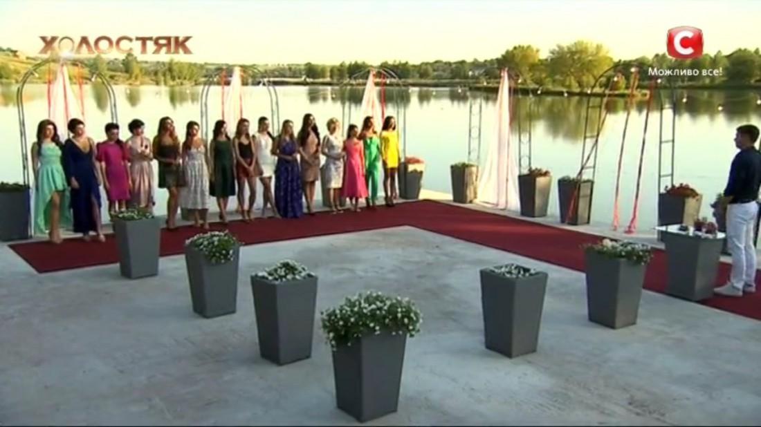 Холостяк 7 сезон второй выпуск: церемония роз