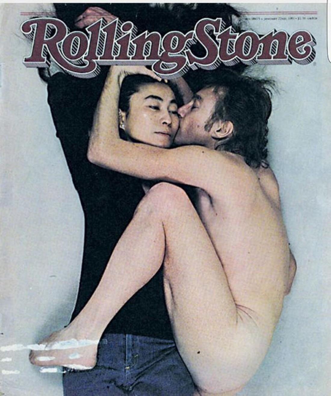 Обложка с Джоном и Йоко