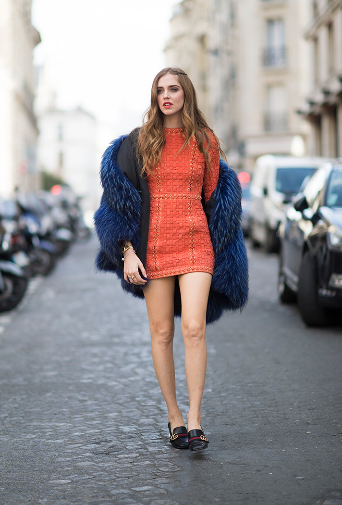 Street style Недели моды в Париже