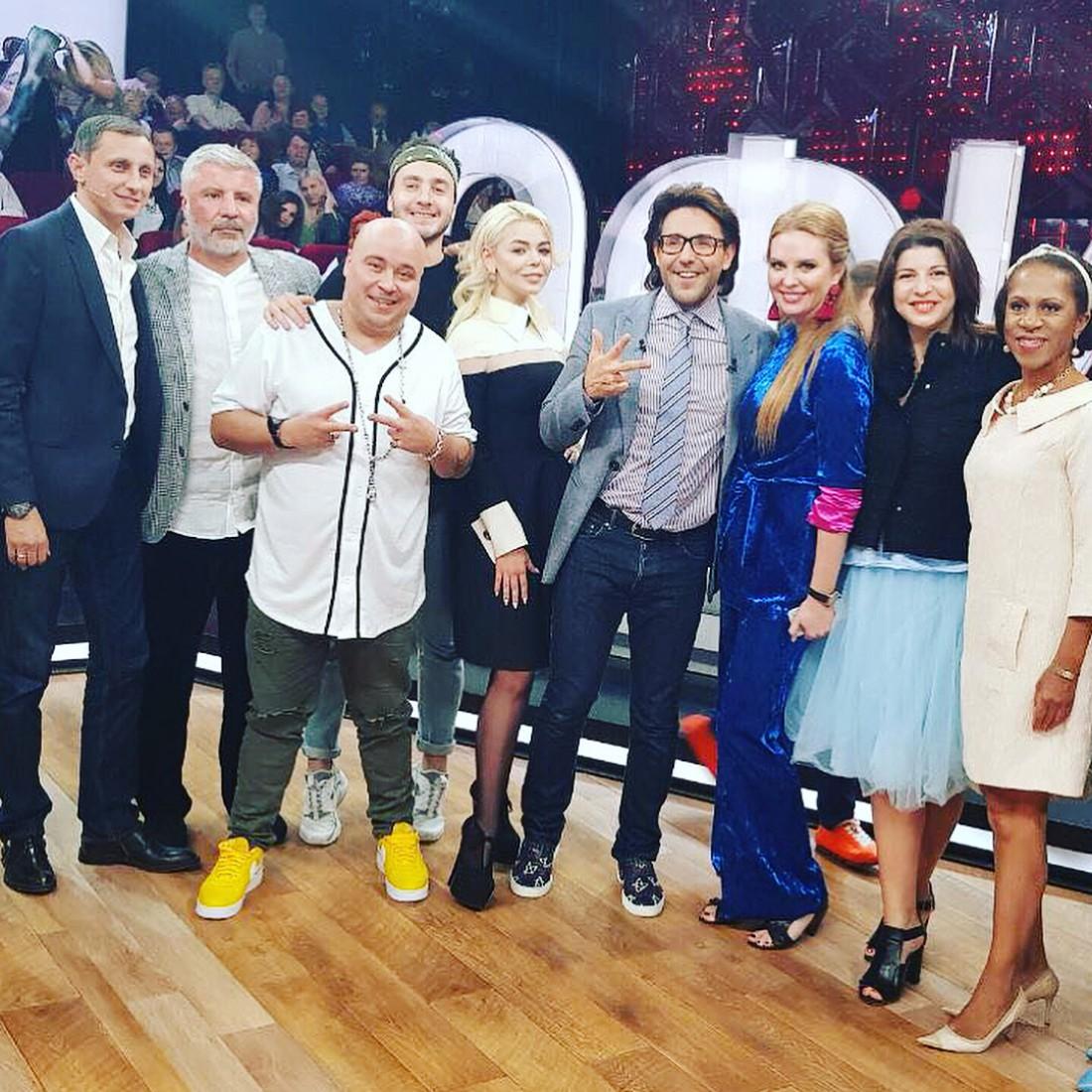 Алина Гросу на шоу Прямой эфир