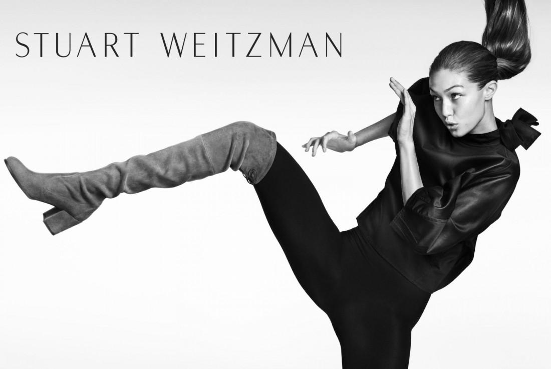 Топ-модель Джиджи Хадид в новой рекламной кампании