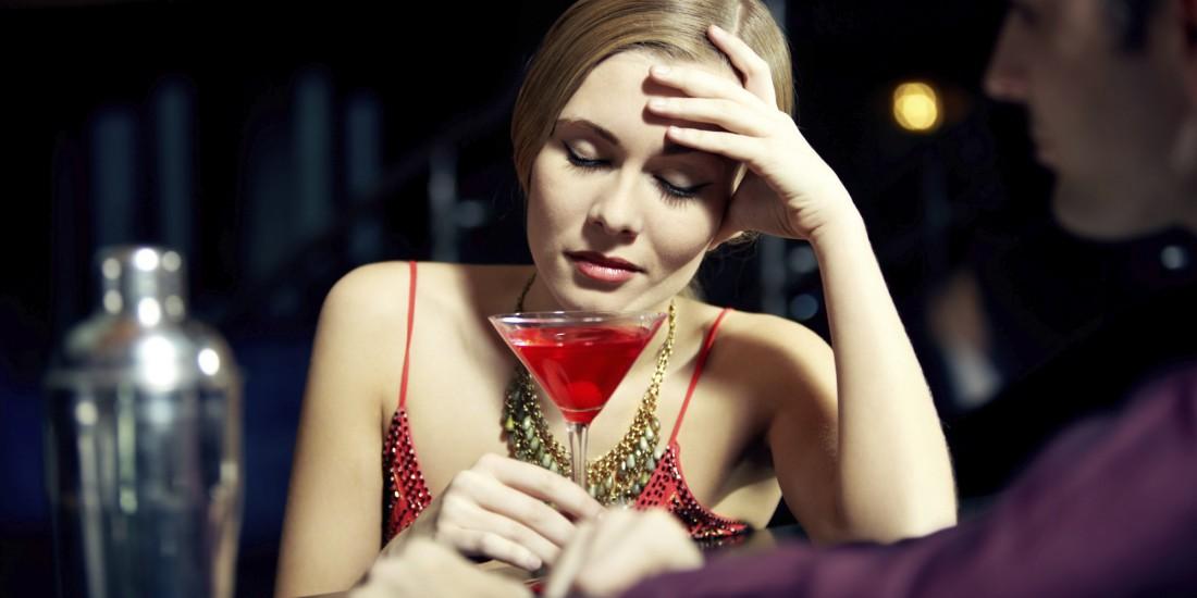 Перед сексом не налегай на алкоголь