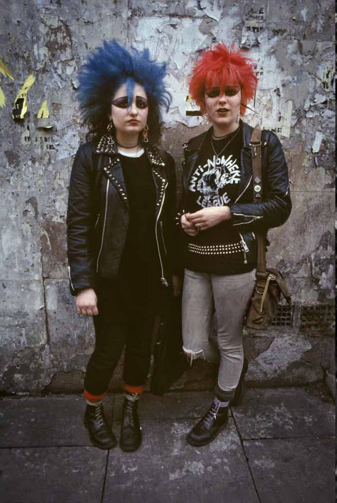 Punk fashion in the 70s