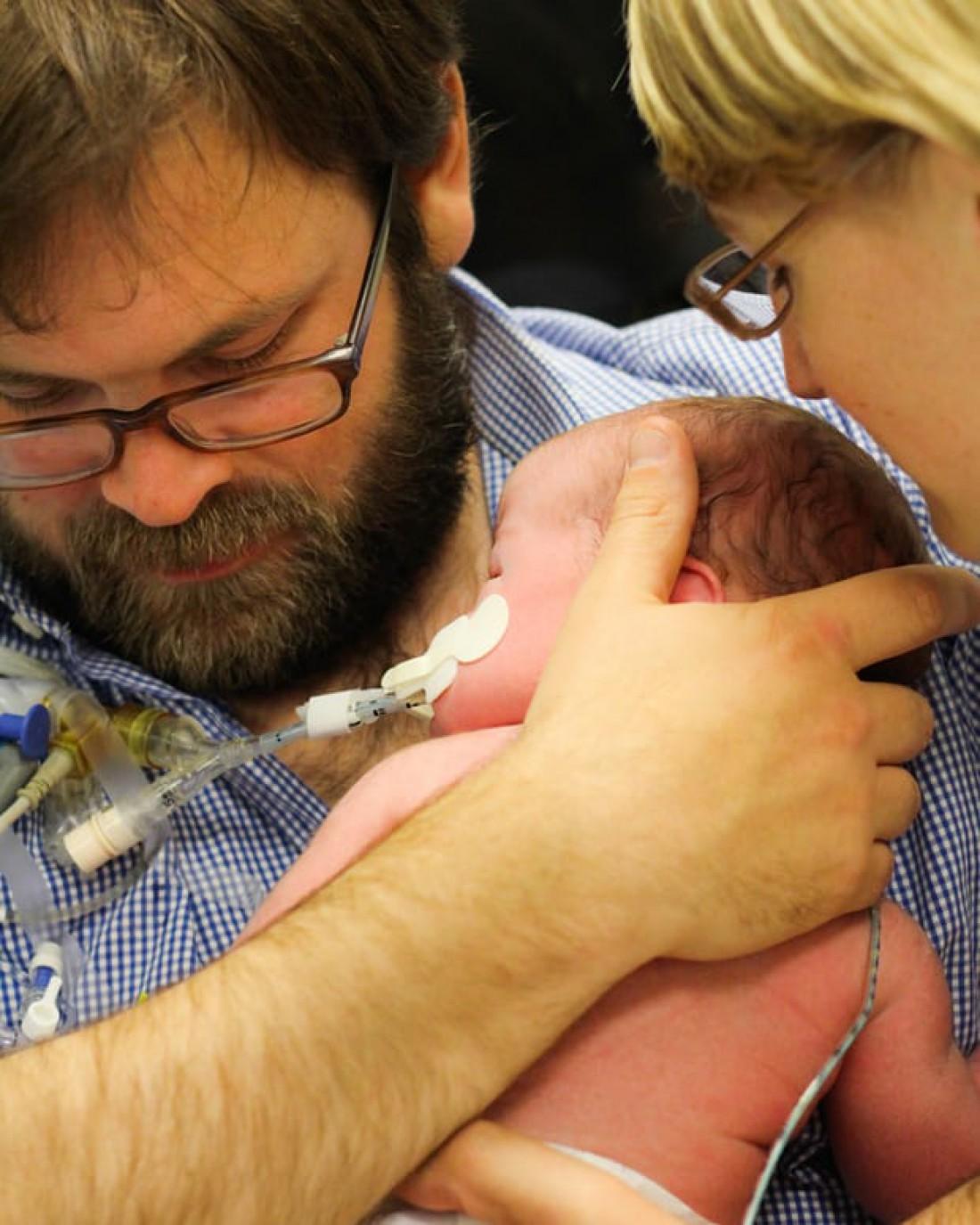 Семья Толпут с дочерью Мартой