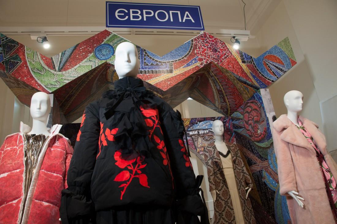 Образы украинских дизайнеров в рамках International Fashion Showcase