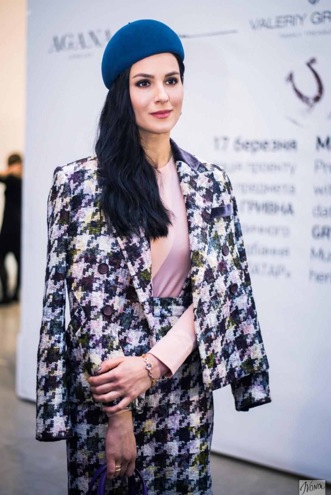 Маша на Неделе моды в Киеве