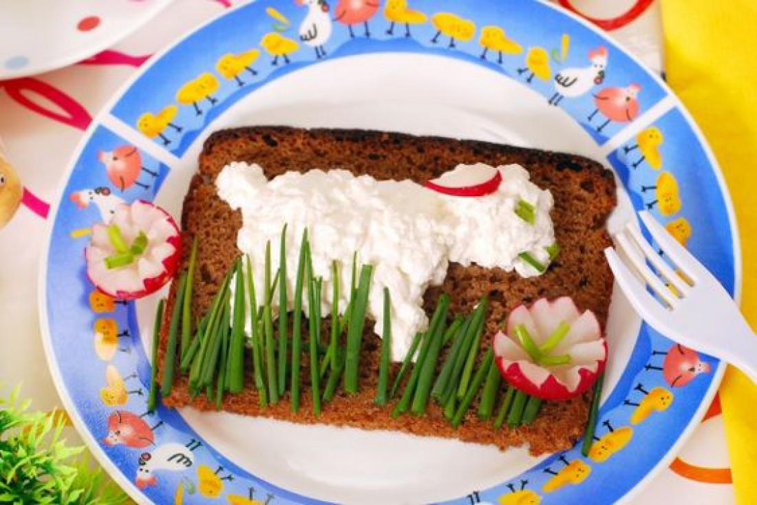 Что приготовить детям на Пасху: Бутерброд