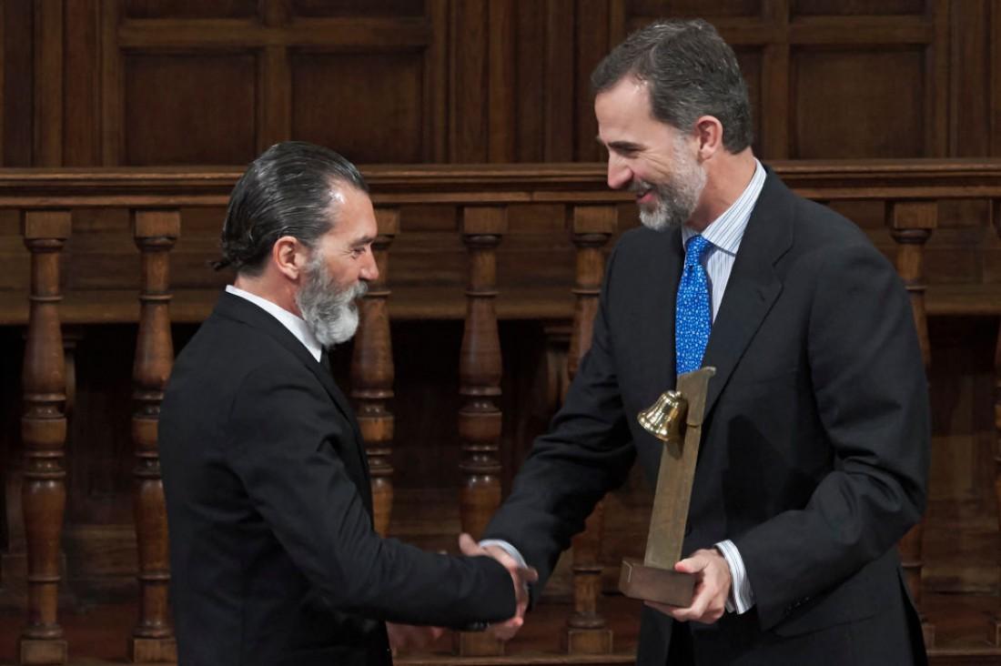 Антонио Бандерас и король Испании