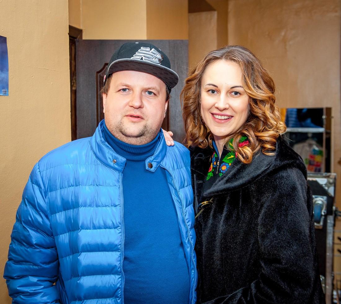 Виктор со своей женой Татьяной
