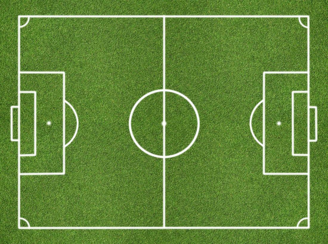 Фото поля футбол