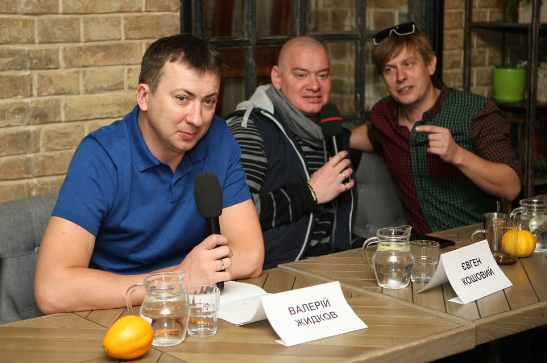 Валерий Жидков, Евгений Кошевой и Сергей Казанин