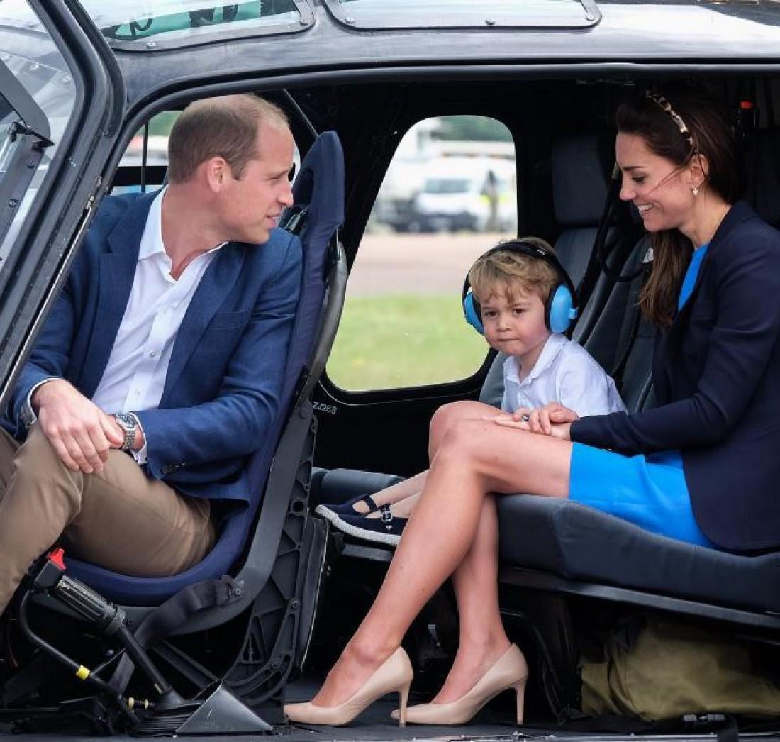 Принц Уильям, Кейт Миддлтон и принц Джордж