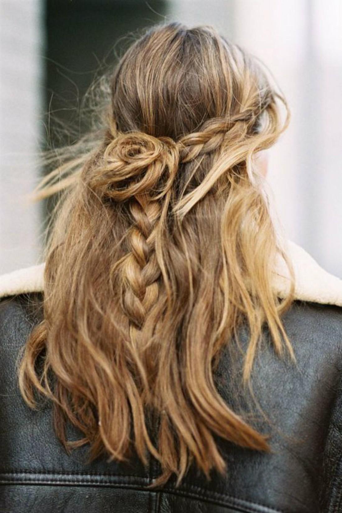 Небрежные волосы