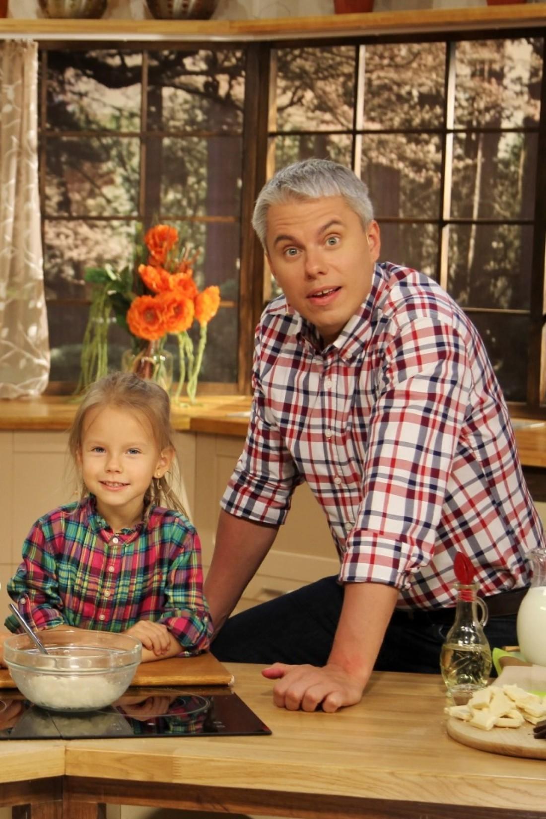 Андрей Доманский с дочкой