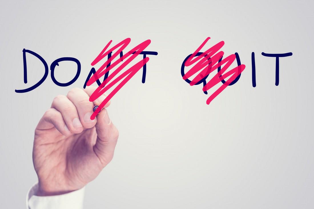 Будь убедительна и тверда в своем решении