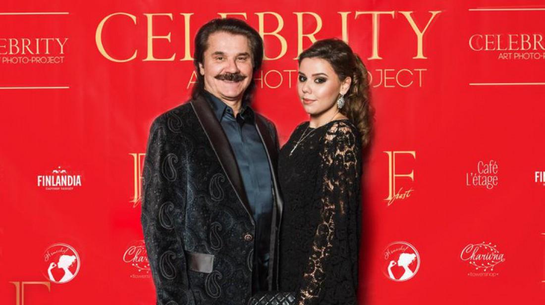 Пвло Зибров с дочкой Дианой