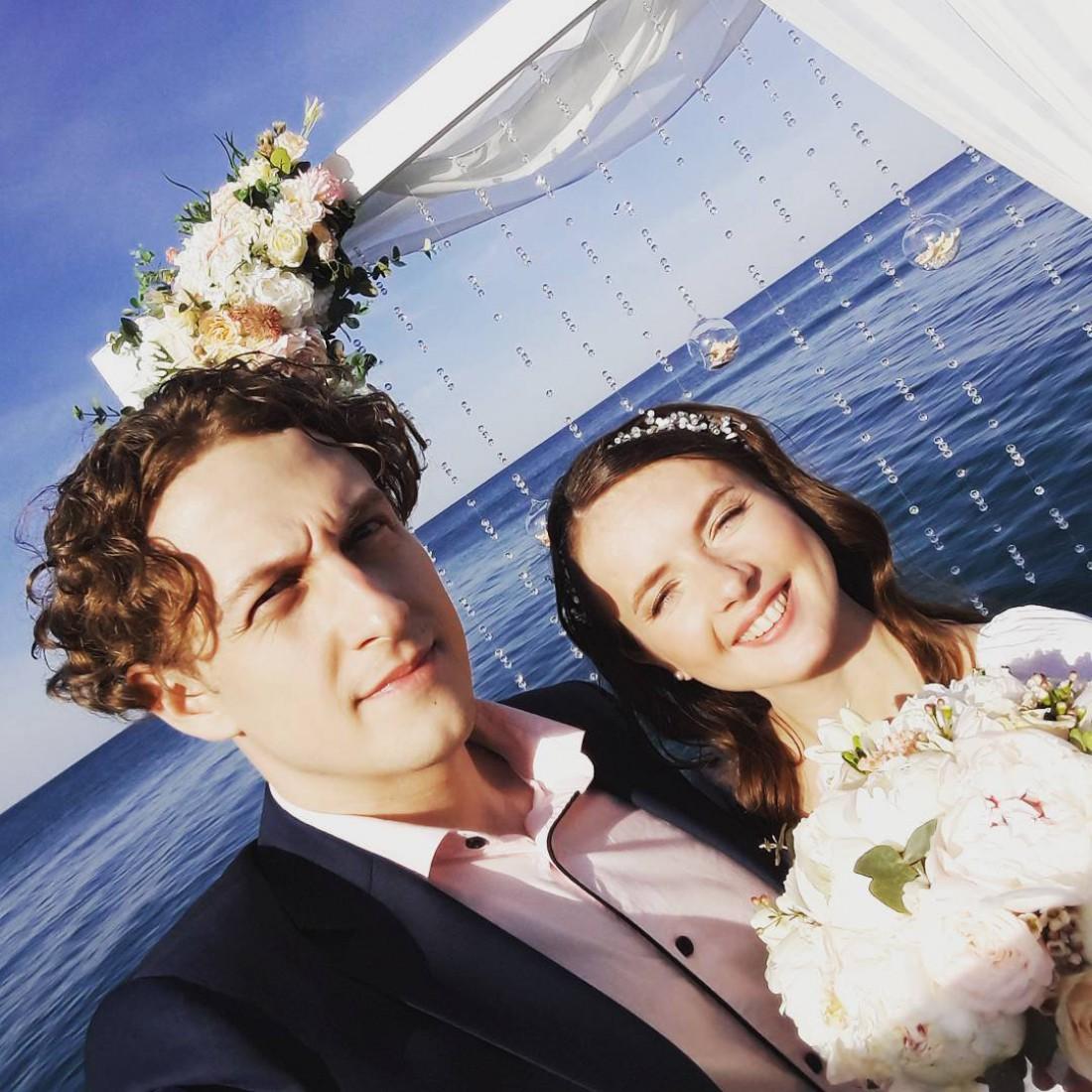 Святослав Гринчук с женой Кристиной