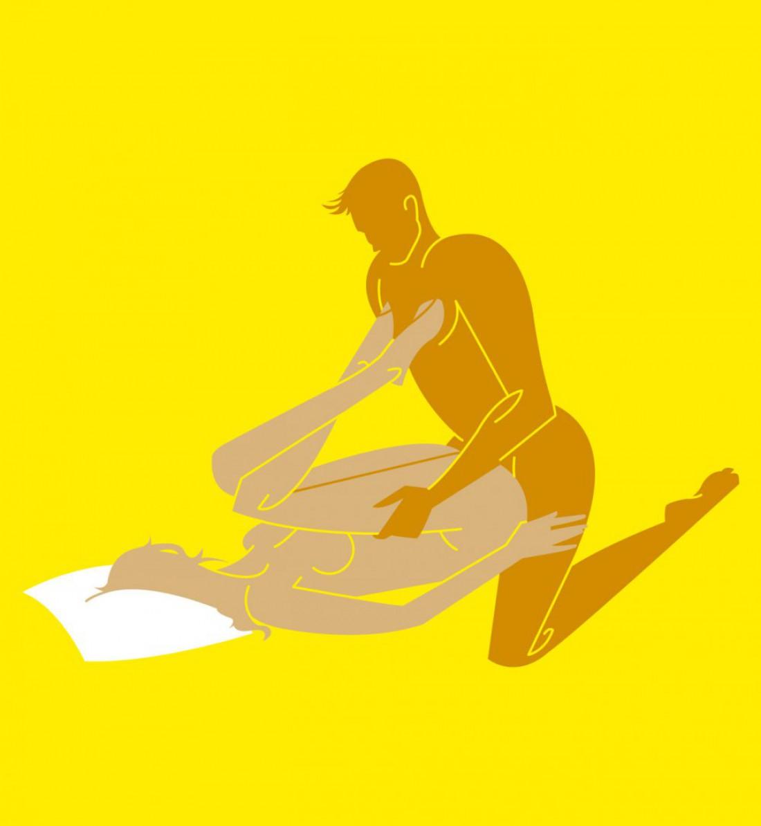 Секс онлайн поза персик в постели