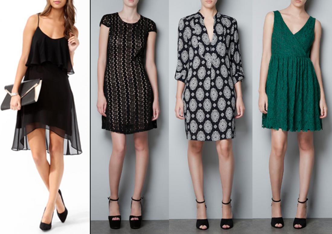 Выбери новогоднее платье по типу фигуры!