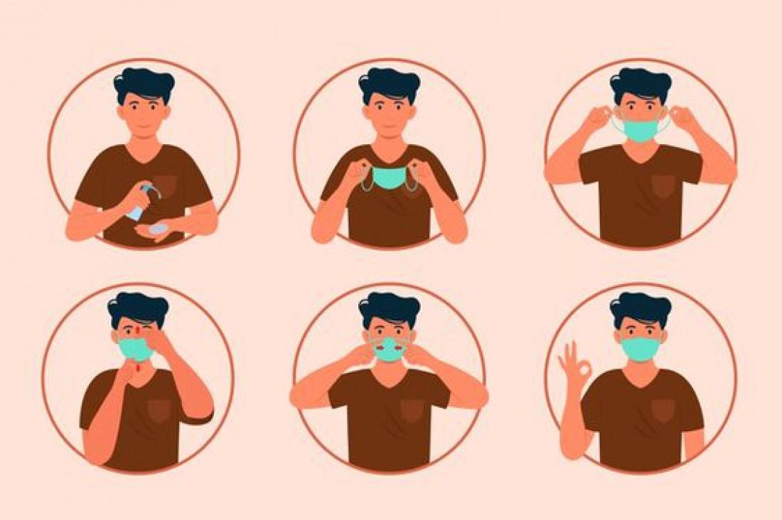 Как правильно носить медицинскую маску: Пошаговая инструкция