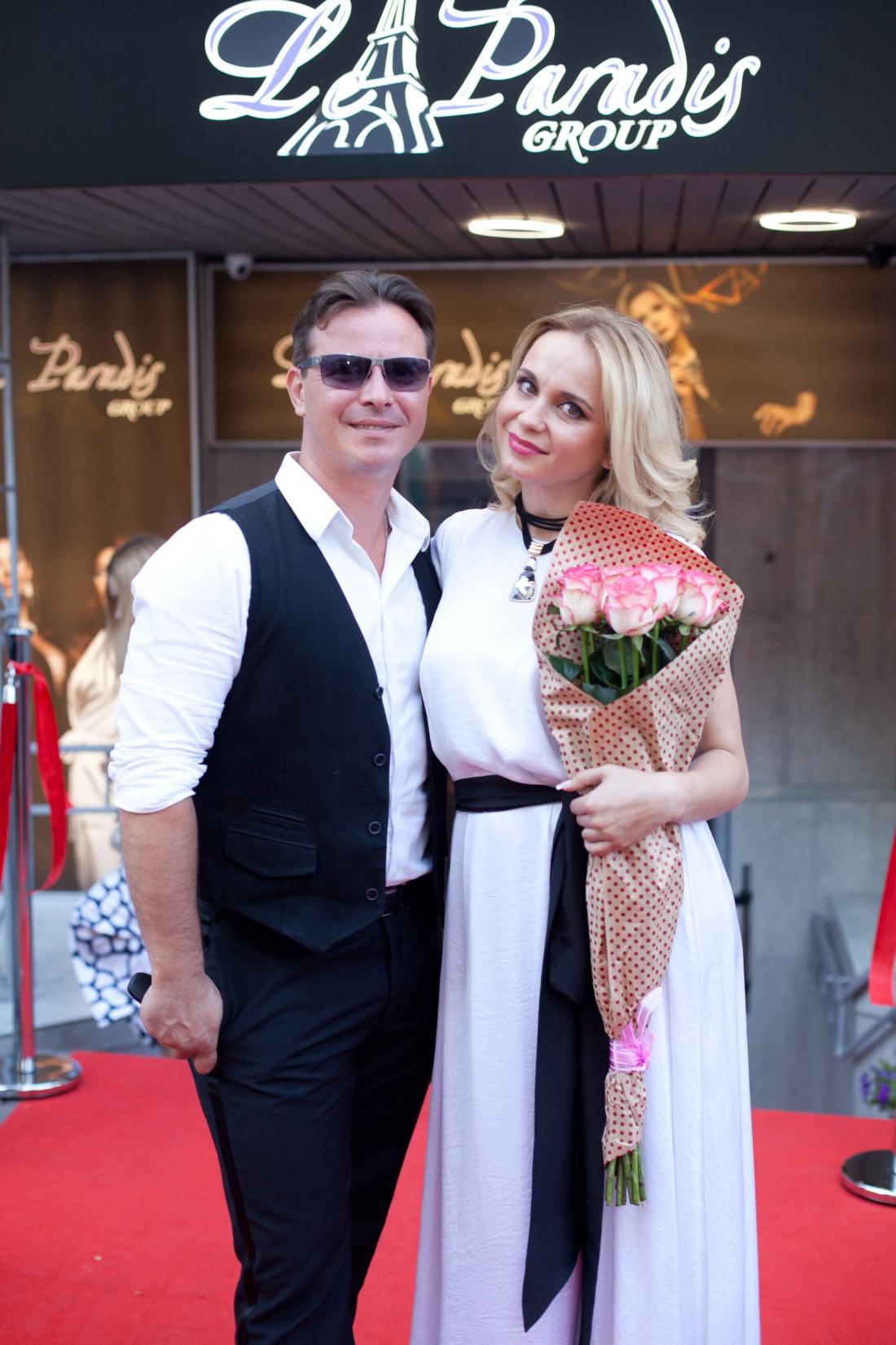 Лилия Ребрик с супругом Андреем Диким