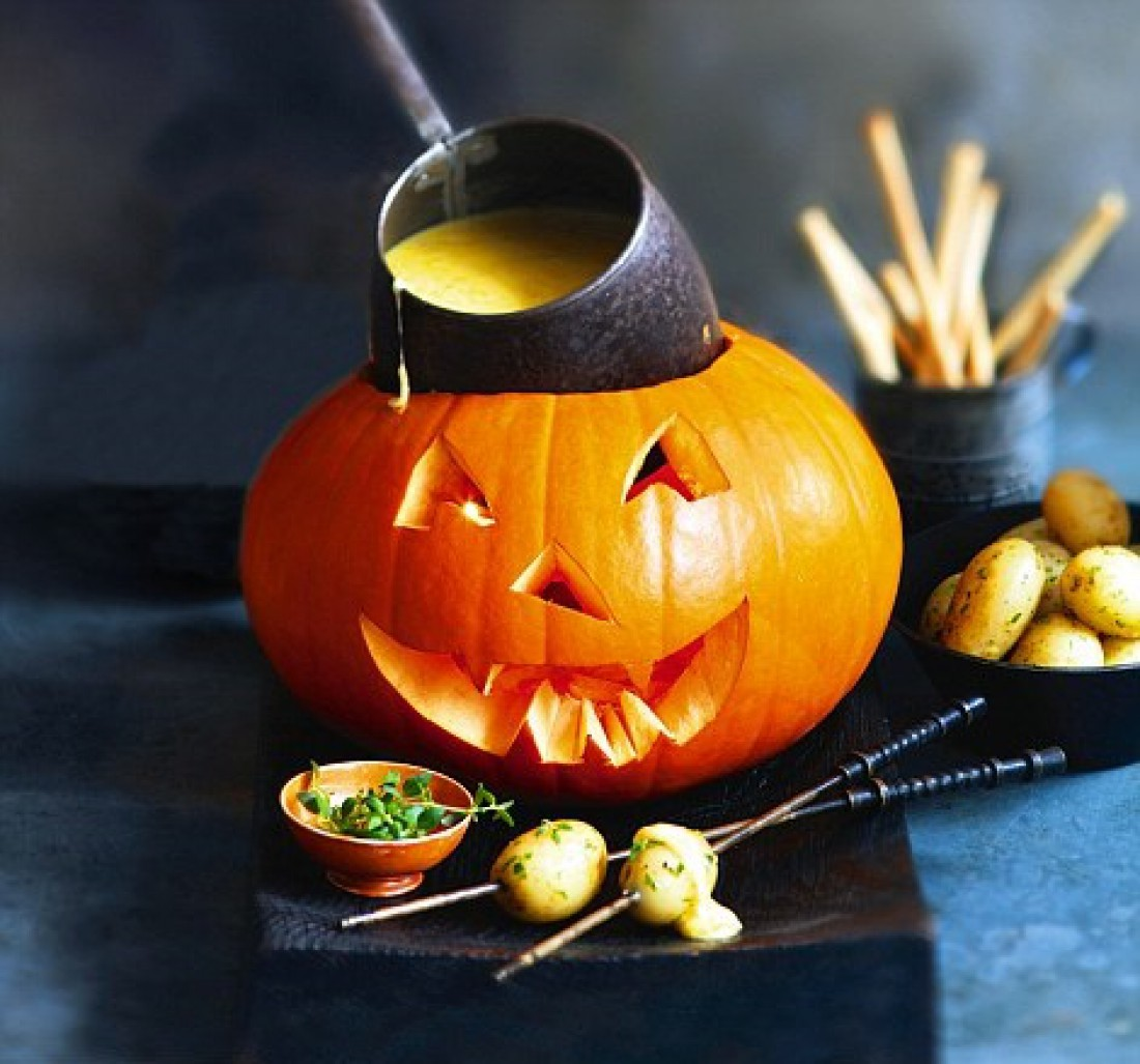 Фондю на Хэллоуин