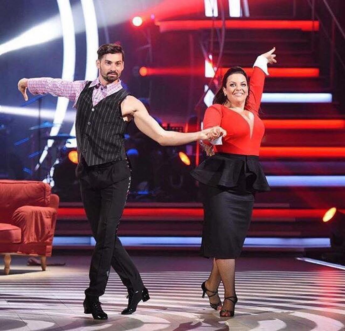 Танці з зірками 2017: Наталья Холоденко со своим партнером Виталием Загуройко