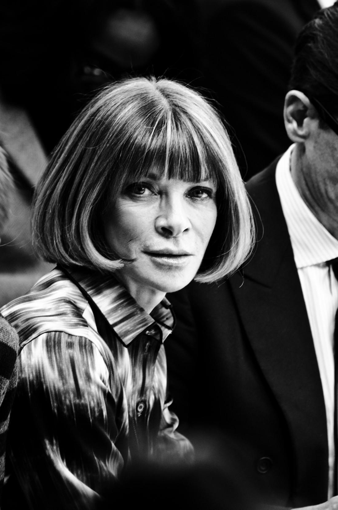 Главный редактор Vogue Анна Винтур