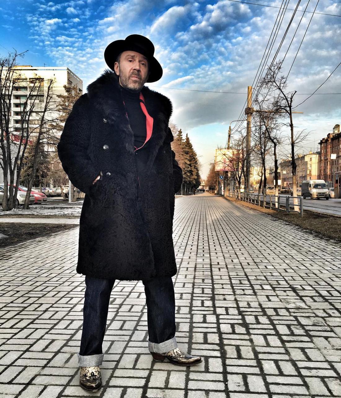 Сергей Шнуров, лидер группы Ленинград