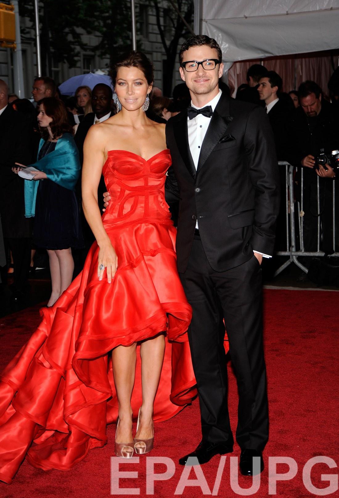 С Джастином Тимберлейком, 2009 год