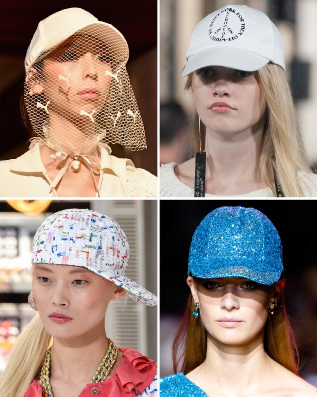 Бейсбольные кепки — модный тренд 2017 года
